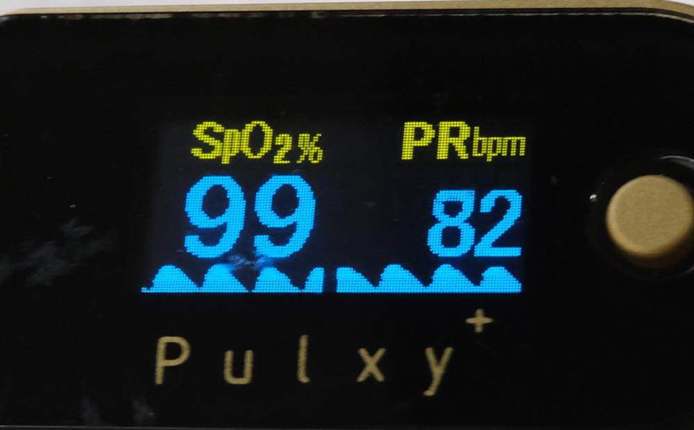 心拍数と血中酸素濃度