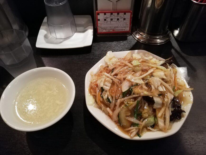 チャオの野菜あんかけチャーハン