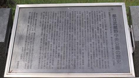 都立武蔵野中央公園の歴史