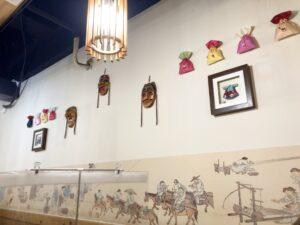 韓味楽の壁