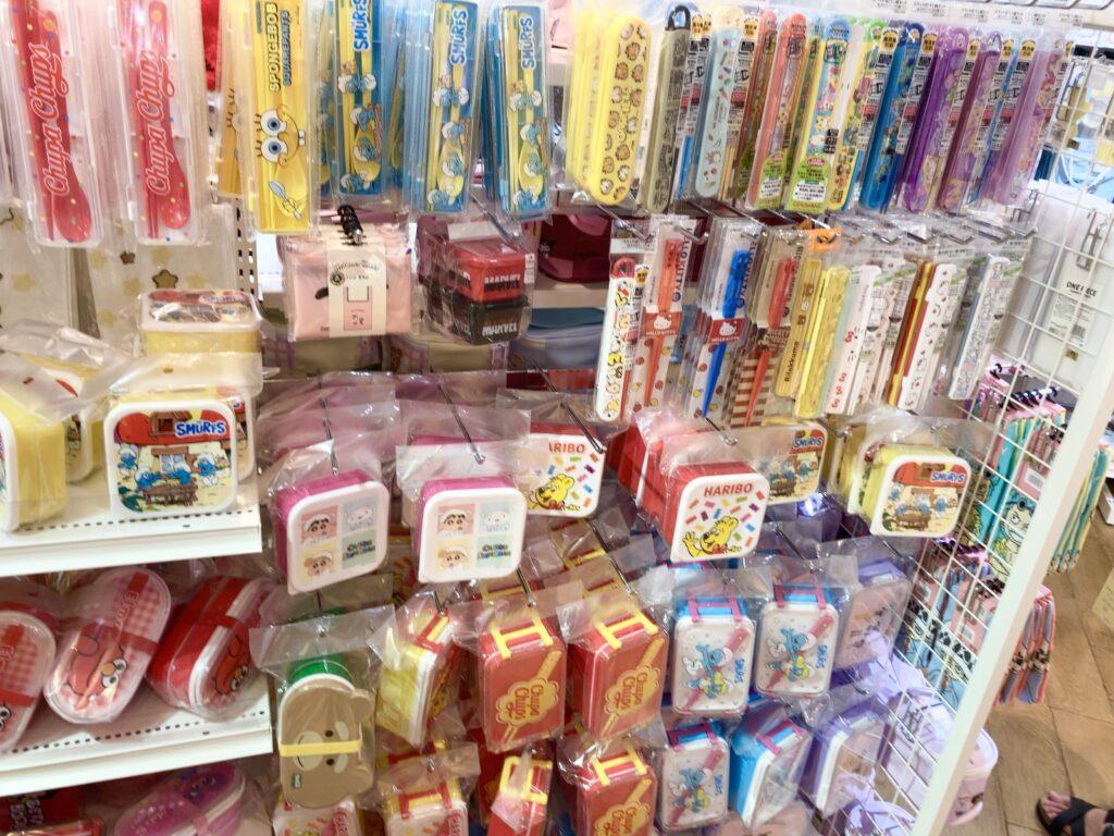 吉祥寺のサンキューマートにあるお弁当用品