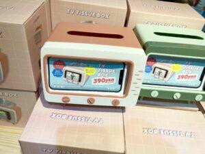 サンキューマートのティッシュボックス