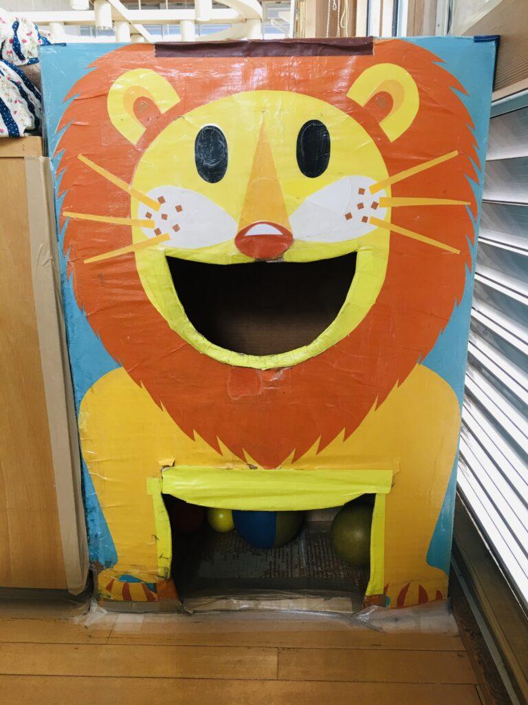 0123はらっぱのてづくりライオンおもちゃ