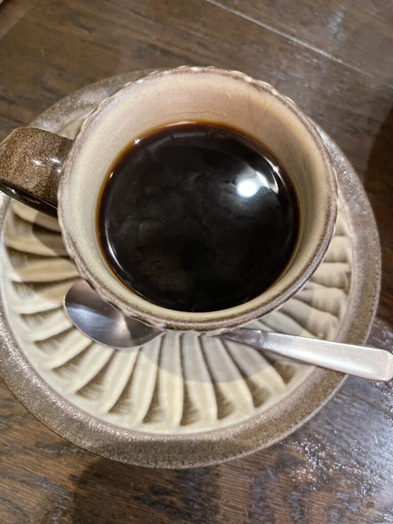 茶房武蔵野文庫コーヒー