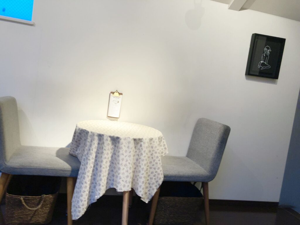 Ryumon Coffeestandの2F内観③