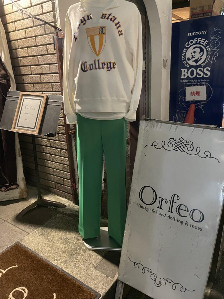 オルフェオ店頭トルソー