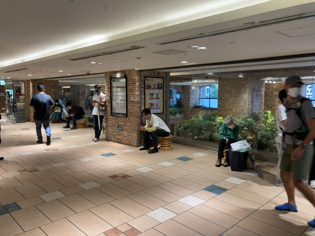 JR吉祥寺駅 西(アトレ本館口)改札前