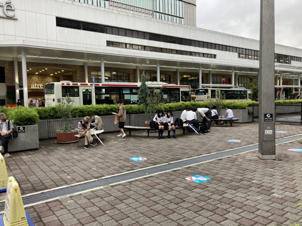 吉祥寺駅北口駅前広場